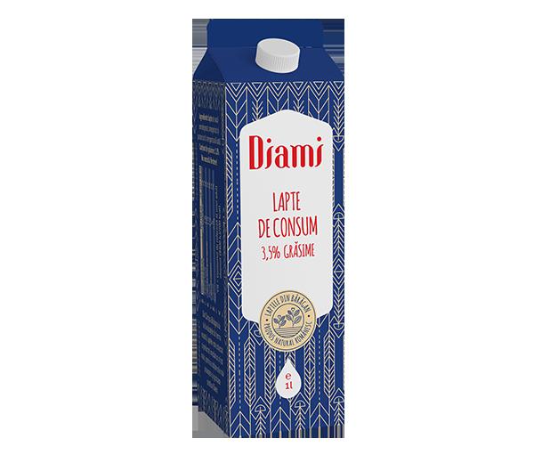 Lapte de consum gras 1l cutie